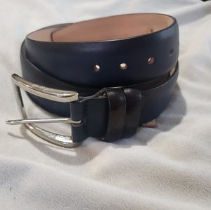 Genuine Italian Leather Mens Belt
